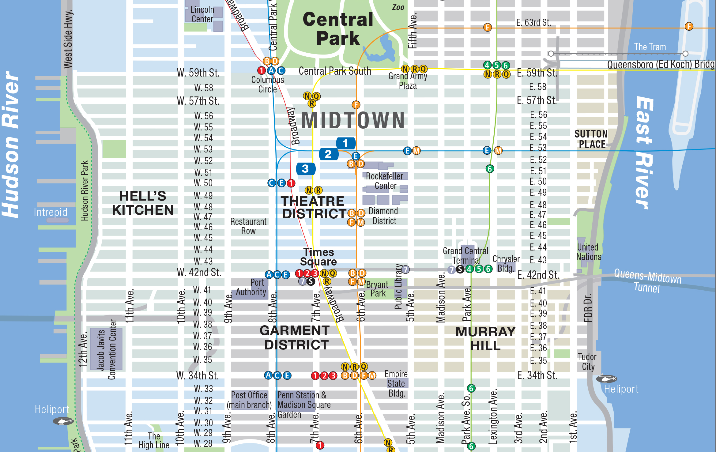 AHA 2015 Meeting Map