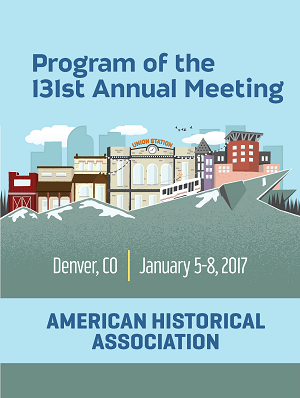 2017 annual meeting program cover