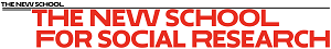 The New School for Social Research logo