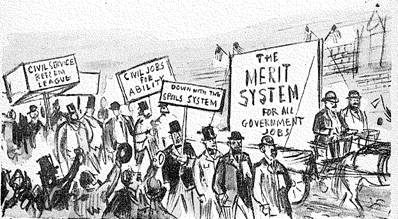 Civics chapter 7 at JORDAN HIGH SCHOOL - StudyBlue |Spoils System Today
