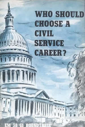 who should choose a civil service career
