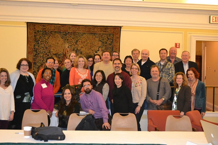 Bridging Cultures participants during the 2014 seminar at the Library of Congress.