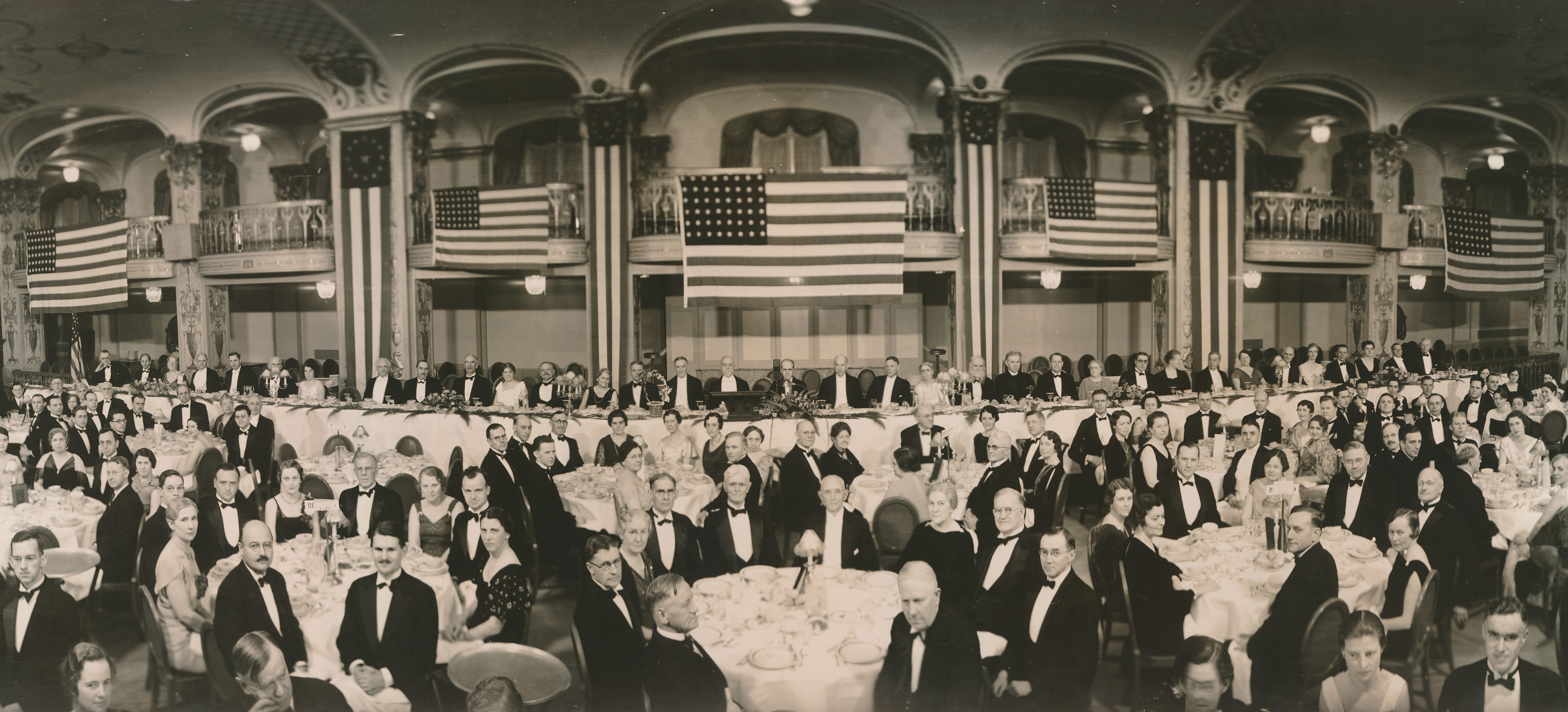 "In 1934, the AHA celebrated its 50th anniversary in Washington, DC, with a ""Founders Dinner."""