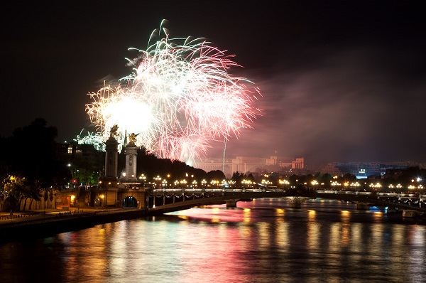 "Bastille Day is France's ""national birthday party."" Joshua Veitch-Michaelis/Wikimedia Commons"