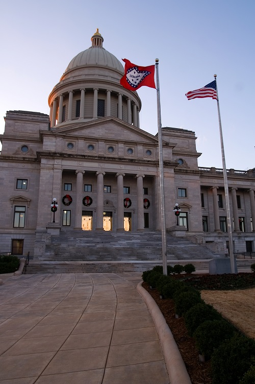 The Arkansas State Capitol. Stuart Seeger/Flickr/CC BY 2.0