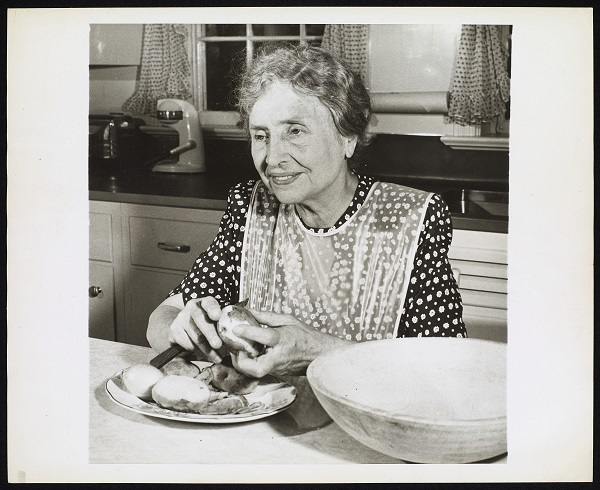 With a robust set of keywords and extensive descriptions, the American Foundation for the Blind's archival images of Helen Keller are accessible to all users. Courtesy American Foundation for the Blind, Helen Keller Archive
