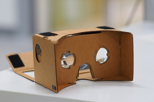 Google's VR platform Cardboard, introduced in 2014. Othree/Wikimedia Commons/CC BY 2.0