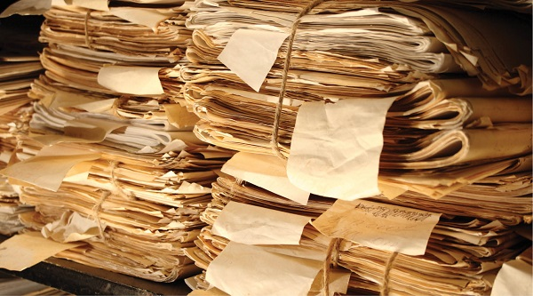 Protecting documents and notes should be a priority for historians. Depositphotos