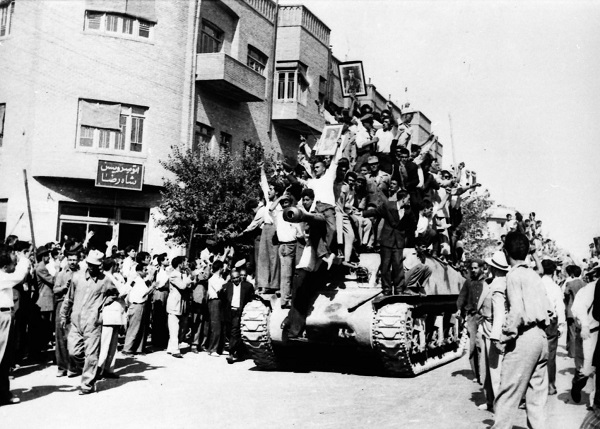 Mosaddegh opponents during the 1953 Iranian coup d'état. A recently published FRUS volume documents the coup and American involvement in it. The Guardian/Wikipedia Commons