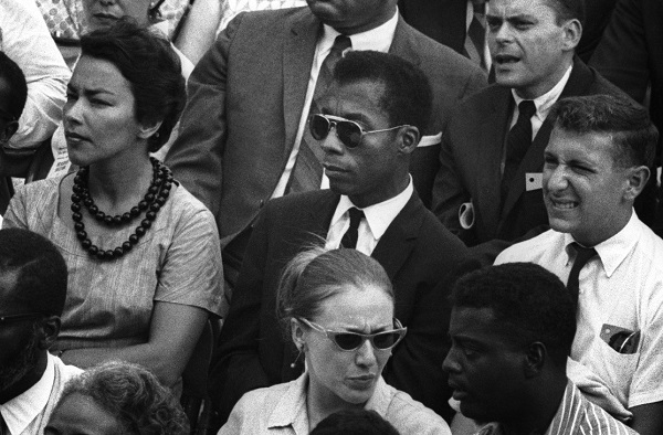 "James Baldwin in <span style=""font-style: normal;"">I Am Not Your Negro</span>, winner of this year's John E. O'Connor Film Award in the documentary category. Dan Budnik/Courtesy Magnolia Pictures"