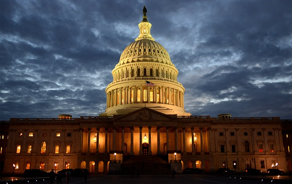 The US Capitol at the end of the 2013 government shutdown. Stephen Melkisethian/Flickr/CC BY-NC-ND 2.0