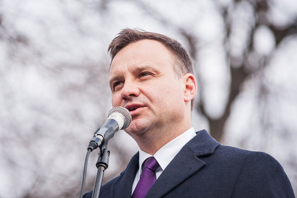 In February, Polish president Andrzej Duda signed a law criminalizing references to Polish complicity in Nazi war crimes. The AHA issued a statement condemning the law. Radosław Czarnecki/Wikimedia Commons/CC BY-SA 4.0