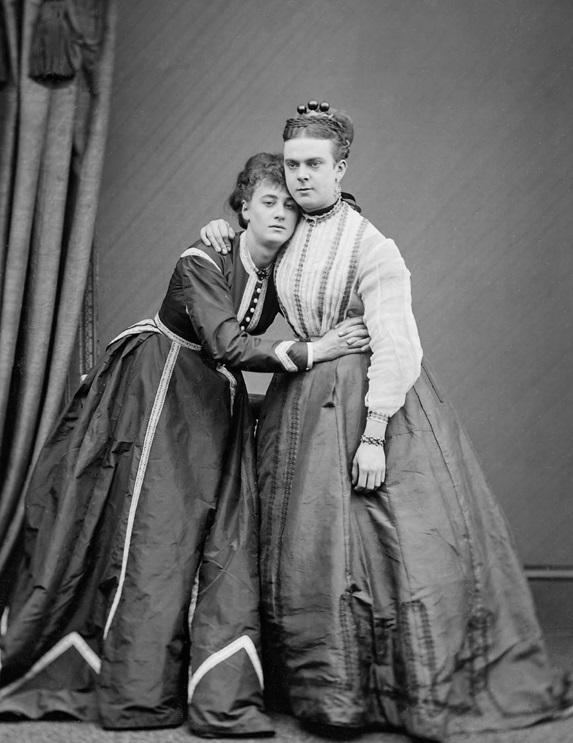 "Gender nonconforming individuals frequently suffer prosecution. Stella (<span style=""font-style: normal;"">left</span>) and Fanny, a.k.a. Ernest Boulton and Frederick Park, were arrested in 1870 by the London police and charged with ""conspiring and inciting persons to commit an unnatural offence."" Frederick Spalding/Wikimedia Commons"