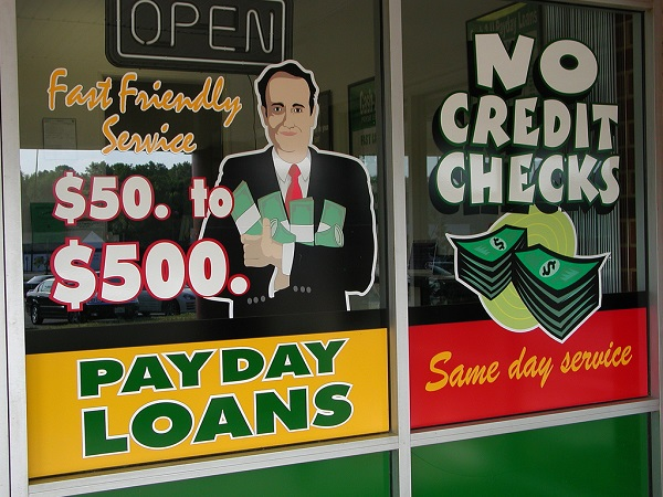 Policymakers are proposing plans to cut the demand for payday loans charging exorbitantly high interest rates. Taber Andrew Bain/CC BY 2.0/Flickr