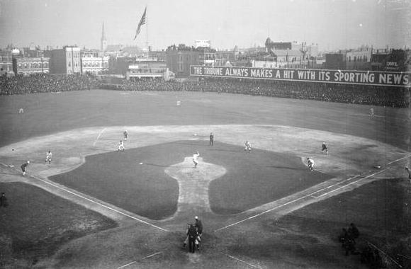 Game 3 of the 1906 World Series.