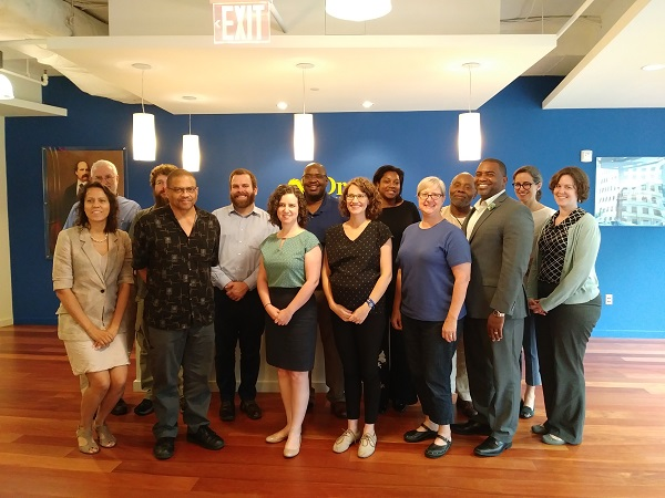 A group of historians, philosophers, and AHA and APA staff, gathered in Washington, DC, in June to discuss how scholarly societies can collaborate with faculty members at HBCUs.