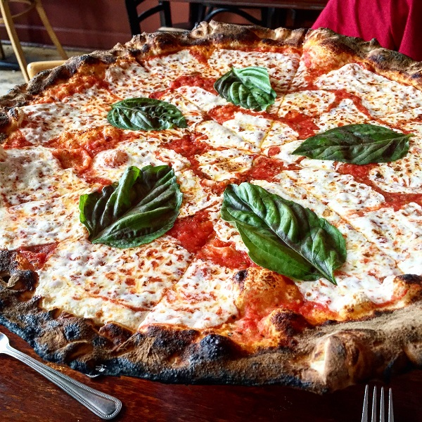Pizza Margherita from Coalfire