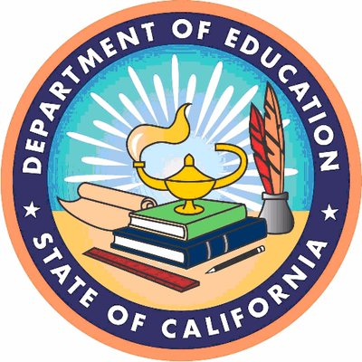 State of California Department of Education logo