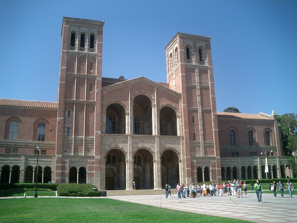 Royce Hall on UCLA's campus