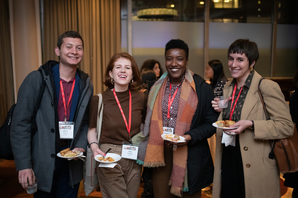 Attendees at the Reception for Graduate Students at AHA20