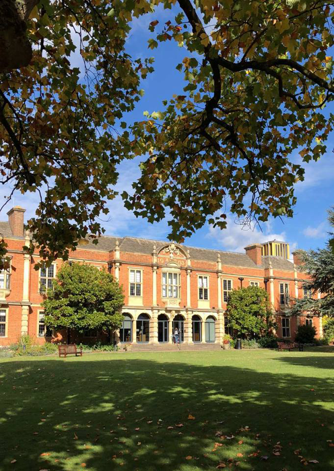 The Mutual Admiration Society would have spent time at the Somerville College Library, built in 1903; it was the first library for women at the University of Oxford.