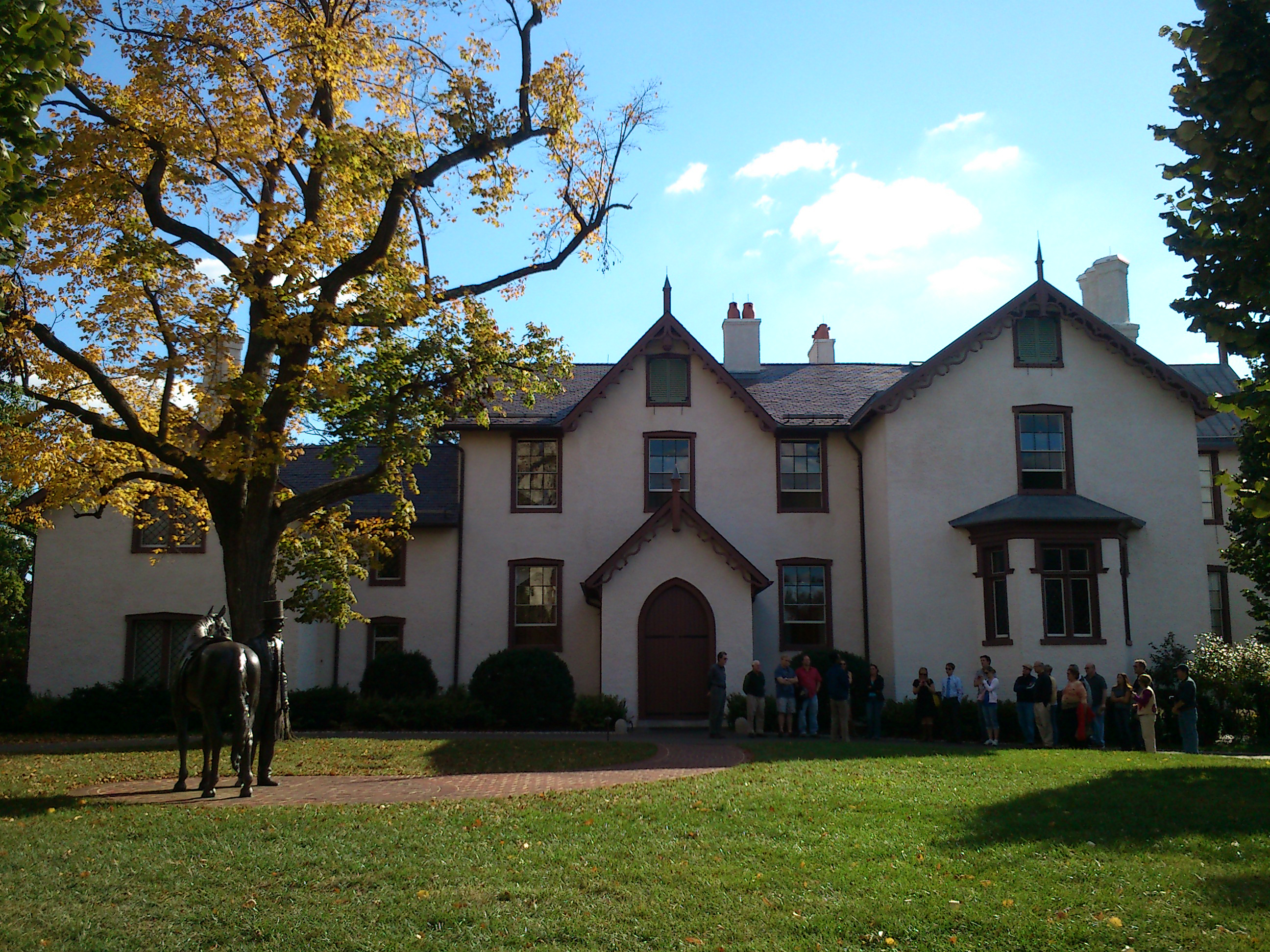 President Lincoln's Cottage in Washington, DC, is just one historic site that has been revising its programs to make contemporary connections to history more clear.