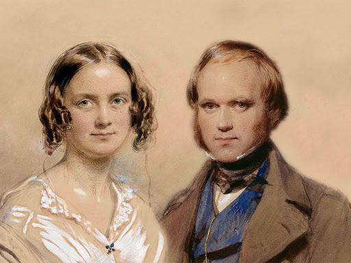Charles Darwin married his first cousin, Emma Wedgwood, in 1839. They had 10 children during their more than 40 years of marriage, which ended with Charles's death.