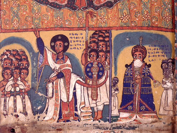 "Should artifacts taken during colonization, such as this painting from Ethiopia found in the British Museum, be returned? Questions exploring colonialism in museums, curriculum, and the community are central to the ""Questioning Decolonizing"" module of the History for the 21st Century project."