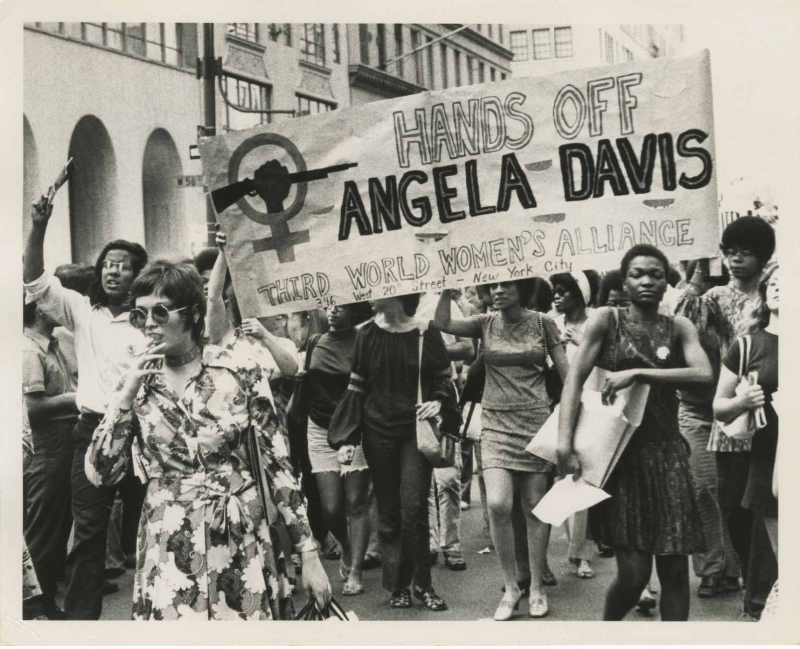 The Women's Strike for Equality on August 26, 1970 in New York City.