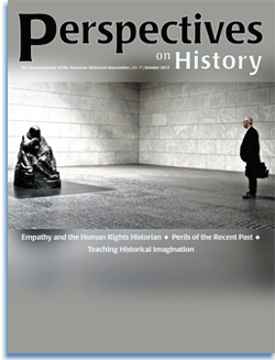 Perspectives on History, October