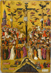 Image credit: National Gallery, Alexandros Soutzos Museum, Athens Image caption: Andreas Pavias, Icon of the Crucifixion