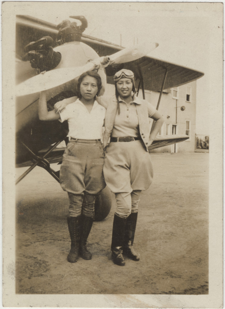 """Hazel Ying Lee and Virginia Wong, ca. 1932–33."" Courtesy of Frances M. Tong, Museum of Chinese in America (MOCA) Collection. New York Historical Society."