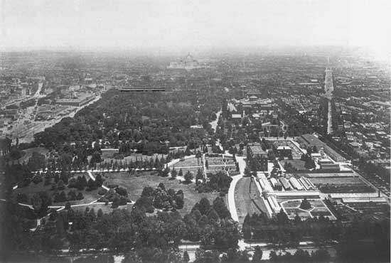 The National Mall circa 1901, courtesy of Wikipedia.
