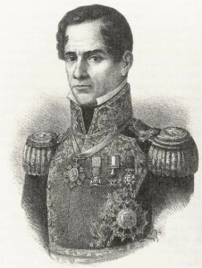 Antonio Lopez de Santa Anna, leader of the Mexican forces in the Battle of the Alamo. But how will he translate to the screen?