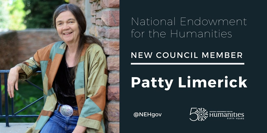 AHA Member Patricia Limerick Appointed to the National Council on the Humanities
