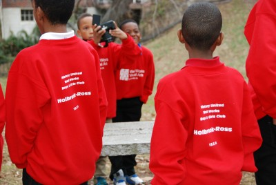 Coordinated by History United, a photography youth group documents a tour of the historically African American Holbrook Ross neighborhood in Danville, Virginia.