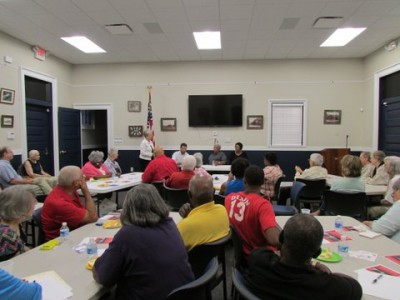 Dan River community convenes during a Civil Rights Discussion series held in the summer of 2015 through a partnership with Virginia Foundation for the Humanities, History United and the Pittsylvania County Library System.