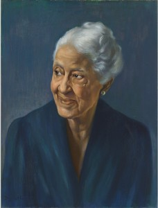 A portrait of Mary Church Terrell by Betsy Graves Reyneau, 1946. National Portrait Gallery, Smithsonian Institution