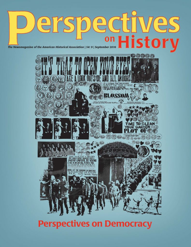 September issue of Perspectives on History