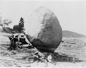 There are ways to better help balance your work load as an assistant professor. Balance Rock, Bar Harbor, ME. Credit: Library of Congress