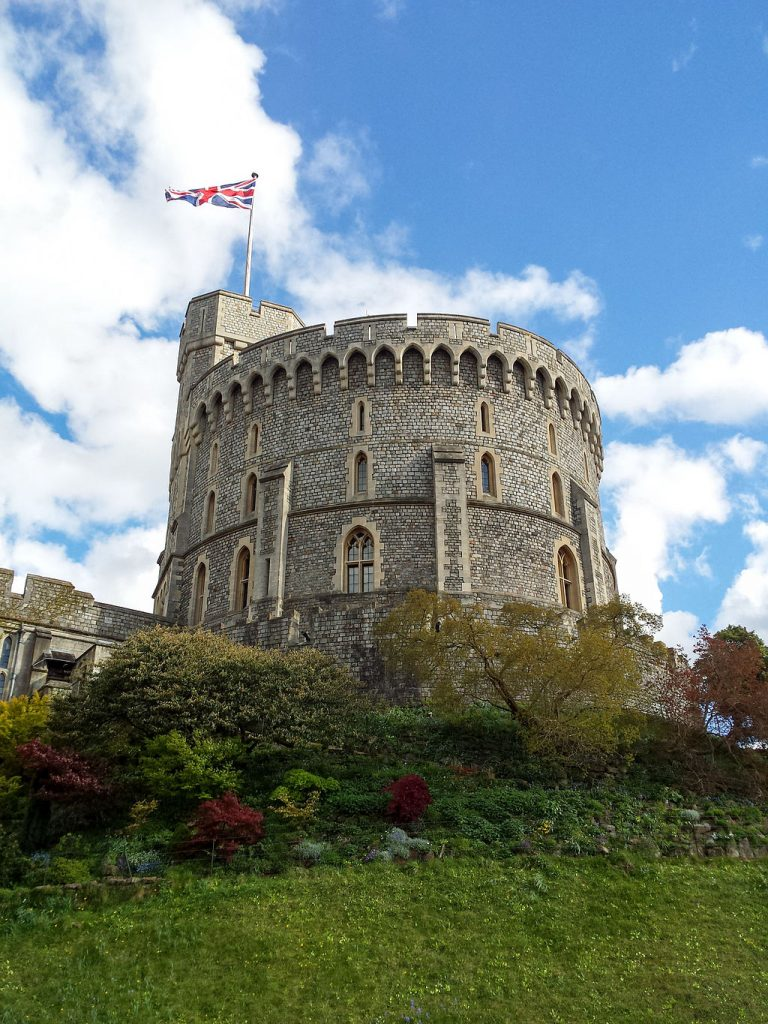 The Georgian Paper Programme plans to digitize thousands of materials from the Royal Archives, which are housed in the Round Tower at Windsor Castle. Wikimedia Commons/CC BY-SA 4.0