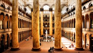 The Great Hall of the National Building Museum. Phil Roeder via Flickr/CC BY 2.0