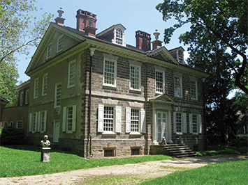 Photograph by Joseph Cialdella. Cliveden was built as a summer home for Benjamin Chew in 1767. Today, it is a historic site working to reintroduce itself to the Germantown neighborhood, in part by telling stories of slavery and domestic servitude that were often left untold.