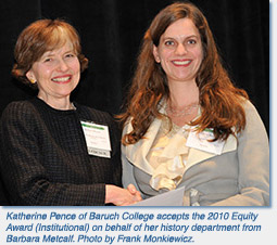 Katherine Pence of Baruch College