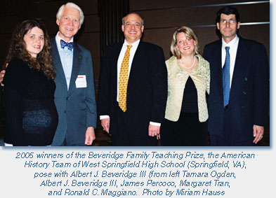 Beveridge Prize Winners