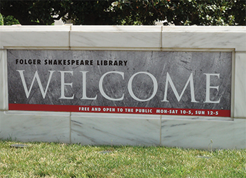 The Folger Shakespeare Library. Photo by Robert Smith.
