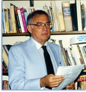 Morris Schonbach. Photo by Prof. James Sefton