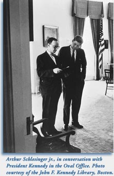 Arthur Schlesinger Jr. and JFK