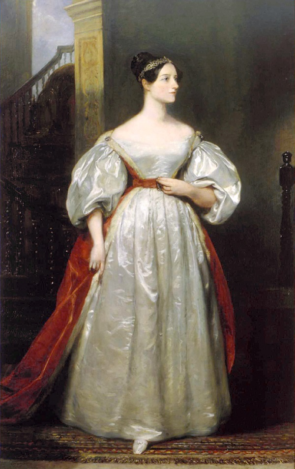 Mathematician Ada, Countess of Lovelace gets credit for pioneering computer programming with her work on the Babbage Analytical Engine.Credit: Margaret Sarah Carpenter, (Augusta) Ada King, Countess of Lovelace, 1836. British Government Art Collection.