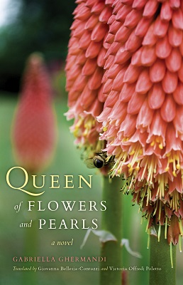 Queen of Flowers and Pearls dust jacket